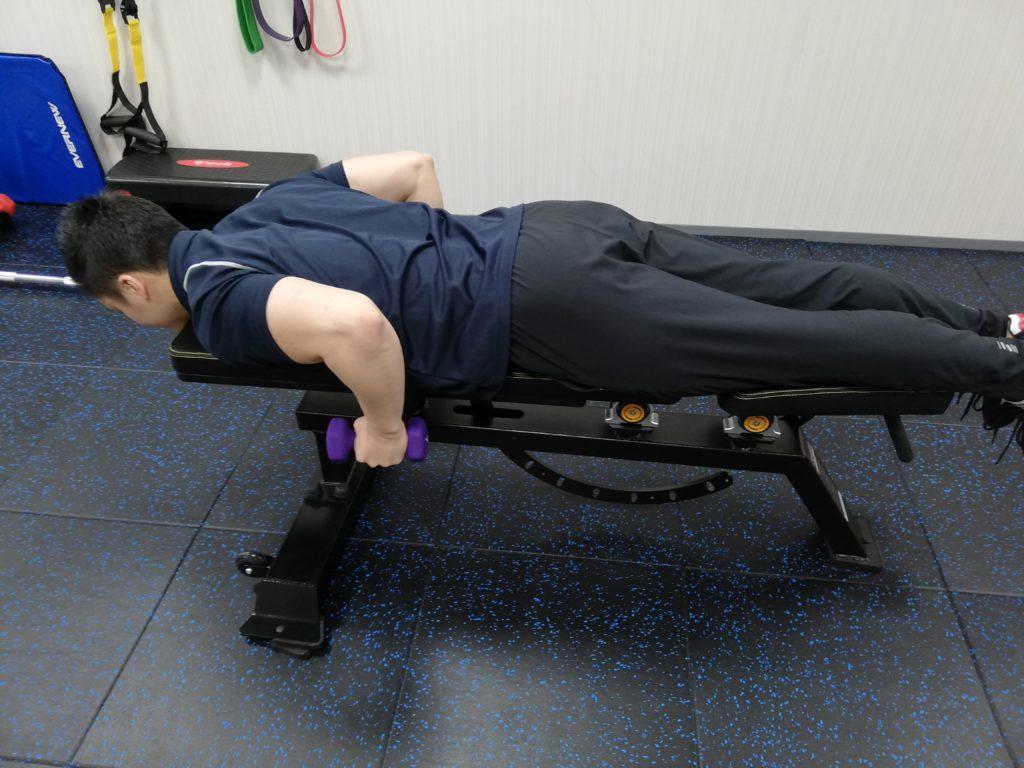 fis二の腕のトレーニング