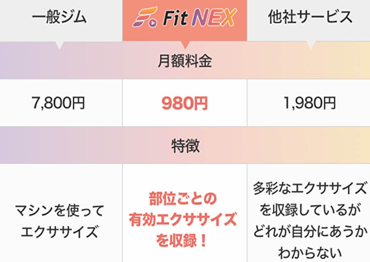 FIT NEX(フィットネックス)料金・支払い方法