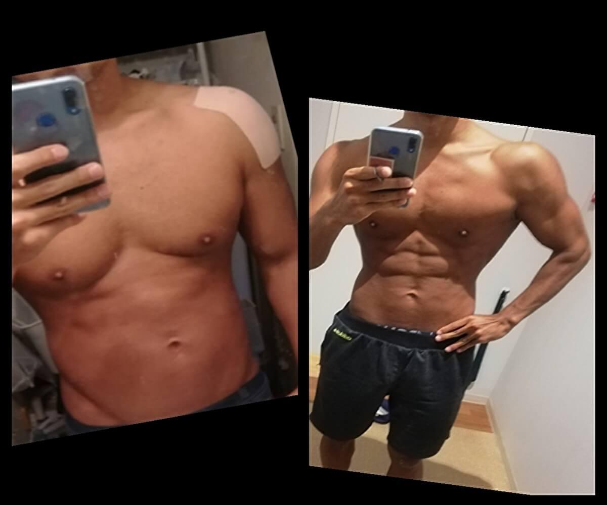 筆者75キロから65キロまでダイエット成功