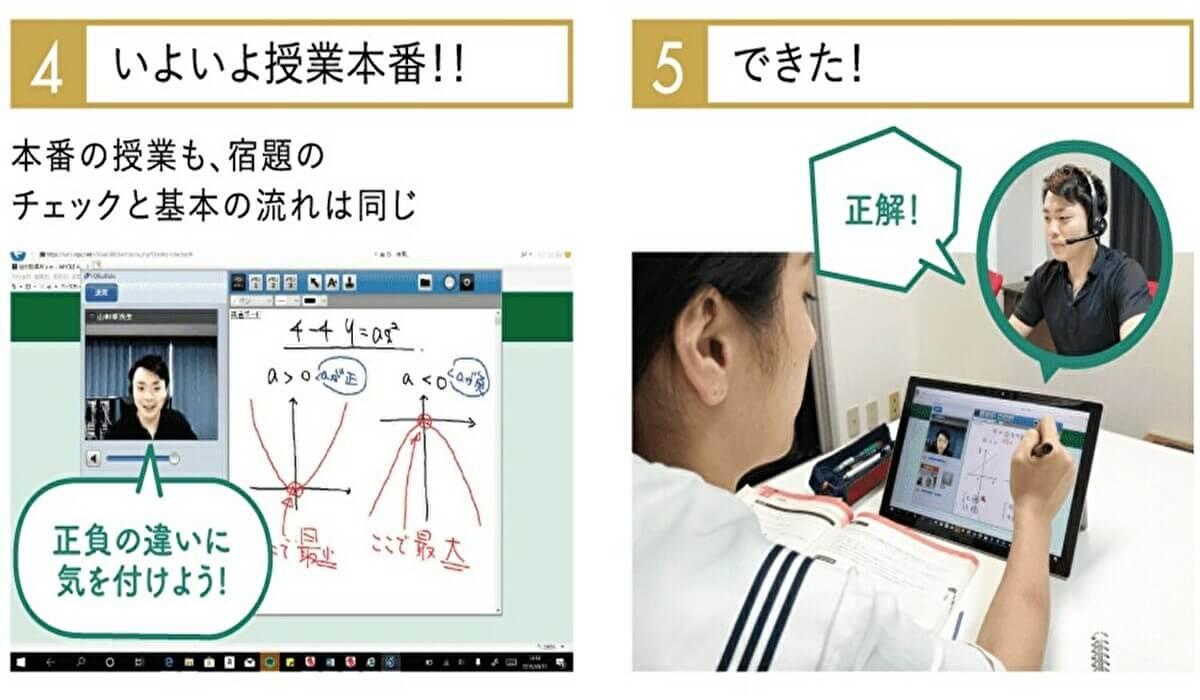 オンライン家庭教師Wam流れ3